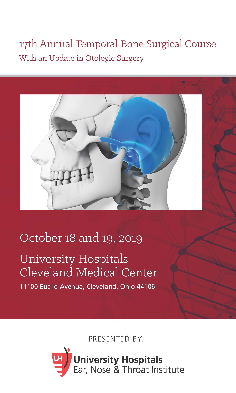 17th Annual Temporal Bone Surgical Course Banner