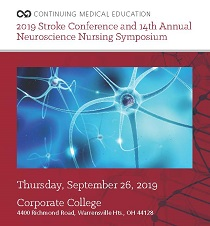2019 Stroke Conference and 14th Annual Neuroscience Nursing Symposium Banner