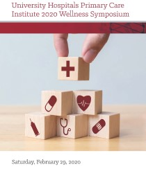 UH Primary Care Institute 2020 Wellness Symposium Banner
